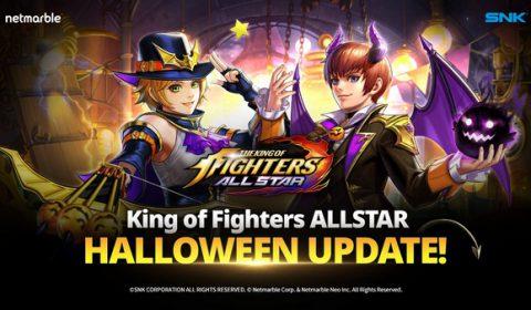 เฉลิมฉลองครบรอบ 1 ปี เกมสุดยอดนักสู้ The King of Fighters ALLSTAR พร้อมพบช่วงเวลาสุดพิเศษ THE HALLOWEEN SEASON