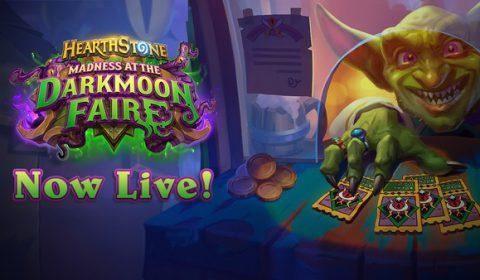 ก้าวเข้ามาถ้าคุณกล้าพอ แล้วมาสัมผัสประสบการณ์บ้าคลั่งใน Madness at the Darkmoon Faire เปิดให้เล่นแล้วใน Hearthstone