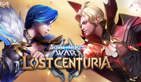 (รีวิวเกมมือถือ) Summoners War: Lost Centuria ศึกเกมวางแผนแอ็คชั่น 8 vs 8