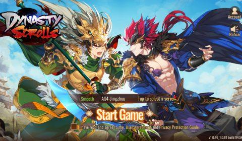 (รีวิวเกมมือถือ) Dynasty Scrolls เกมจัดทีมสามก๊กในรูปแบบฉบับอนิเมะ