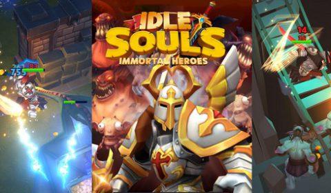 ของใหม่มาให้ลอง  Idle Souls-Immortal Heroes in Exile เกมใหม่สาย Idle เปิดให้บริการทั้ง iOS และ Android แล้ววันนี้