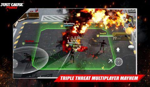 Square Enix เปิดข้อมูลเกมส์มือถือใหม่ Just Cause: Mobile แนว Action-Shooter จากซีรีย์ดังบนระบบคอนโซล