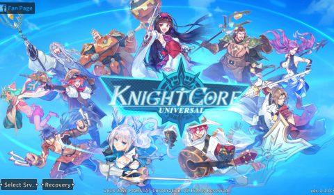 (รีวิวเกมมือถือ) Knightcore Universal เกม RPG รวมทีมตะลุยด่านตัวละครครบเครื่อง