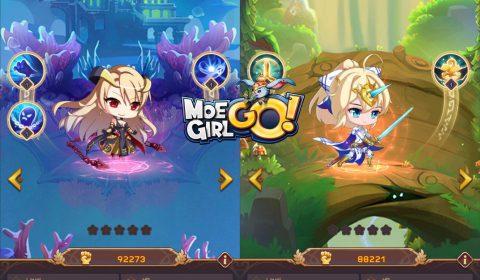 [รีวิวเกมมือถือ] MoeGirl Go! เกม Idle-RPG สุดโมเอะเปิดให้เล่นกันแล้ว