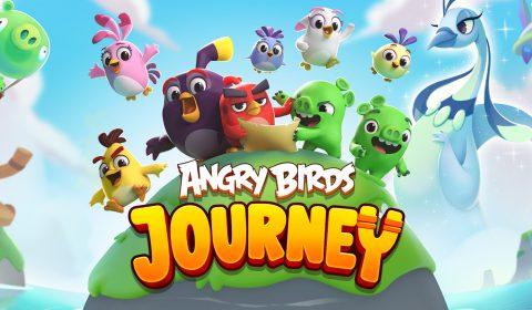 [เล่นก่อนใคร]การผจญภัยครั้งใหม่ของนกขี้โมโหเริ่มขึ้นแล้ว Angry Birds Journey