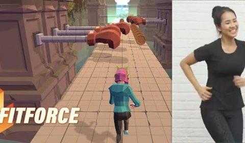 [เกมออกกำลังกาย] สุดเจ๋งเกมคนไทยพัฒนา เพื่อให้อยู่บ้านก็ออกกำลังกายได้ Fitforce