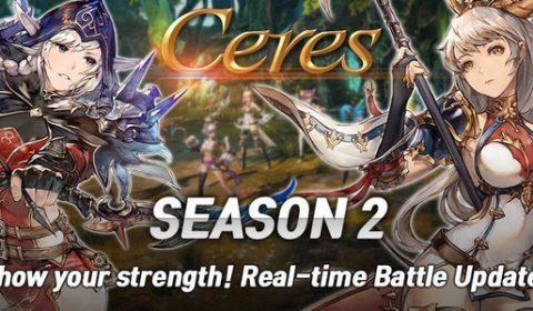 Ceres M เกมมือถือสุดมันส์ยกเครื่องใหม่ก้าวสู่ Season2 พร้อมอัพเดตมากมาย