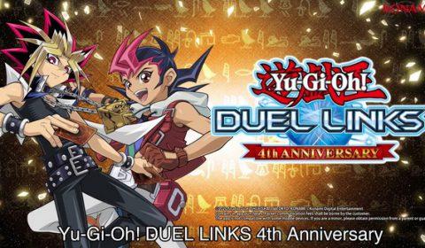 YU-Gi-OH! DUEL LINKS ฉลองครบรอบ 4 ปี ด้วยกิจกรรมหลากหลายในเกม