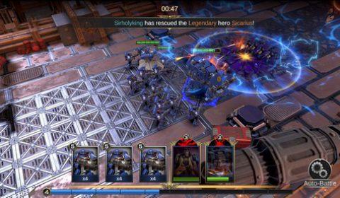 สงครามจักรวาล Warhammer 40000:Lost Crusade พร้อมเปิดให้บริการอย่างเป็นทางการแล้ววันนี้ทั้งระบบ iOS และ Android