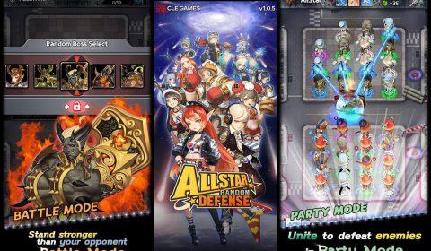 [รีวิวเกมมือถือ] ดวลอย่างมัน เกมป้องกันฐาน Allstar Random DEFENSE