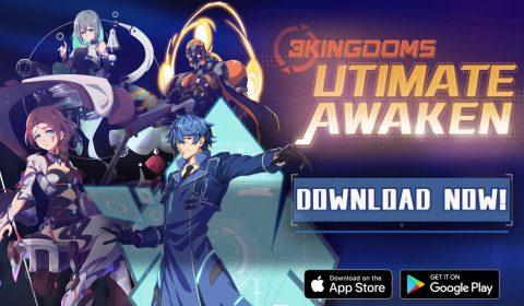 (รีวิวเกมมือถือ) 3K Ultimate Awaken พบกับเกม 3ก๊กเวอร์ชั่นเรโทรโลกอนาคต