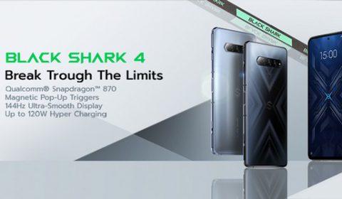 Black Shark ร่วมกับ Nimo TV และ Shopee เปิดตัว Black Shark 4 ประสิทธิภาพทะลุขีดจำกัดโทรศัพท์มือถือสำหรับเกมเมอร์ เอ็กซ์คลูซีฟที่แรกที่เดียวบน Shopee Mall
