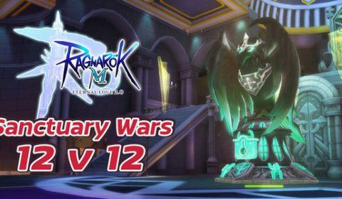 Ragnarok M: Eternal Love เปิดโหมดสงครามตีป้อมใน Sanctuary Wars 12v12 อุ่นเครื่องเปิดฤดูกาลแข่งเร็ว ๆ นี้