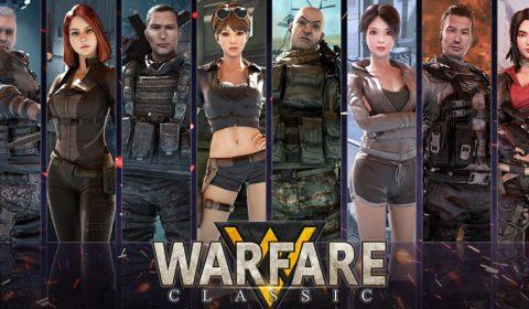 (รีวิวเกมมือถือ) Warfare Classic เกม FPS ฟิลลิ่งแบบเกม PC