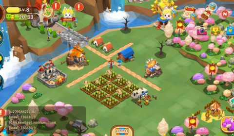 Garena Fantasy Town เกมส์มือถือใหม่สร้างเมือง ทำฟาร์ม ขยายดินแดนสุดแฟนตาซี เปิดให้บริการทั้งระบบ iOS และ Android แล้ววันนี้