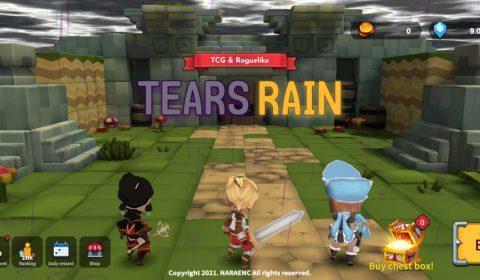 [รีวิวเกมมือถือ] Tears Rain : Goddess's plan เกมดันเจี้ยนรันที่สุดโหด