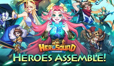(รีวิวเกมมือถือ) Hero Squad เกม IDLE จัดทีมตะลุยด่านในโลกแฟนตาซีตะวันตก