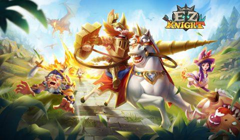 EZ Knight เกมส์มือถือใหม่สายสะสมตัวละคร Idle RPG พร้อมเปิดให้บริการแล้ววันนี้ทั้งระบบ iOS และ Android
