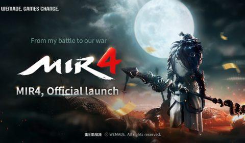 "Wemade Co., Ltd. ประกาศเปิดตัวเกมบล็อกบัสเตอร์ MMORPG ""MIR4"" 26 สิงหานี้อย่างยิ่งใหญ่"