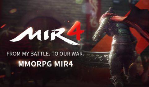 MIR4 เกมส์ออนไลน์แนว MMORPG เล่นได้แบบ Cross Platform สนุกพร้อมกันทั้งระบบ PC iOS และ Android พร้อมเปิดให้ทดสอบรอบ CBT แล้ววันนี้