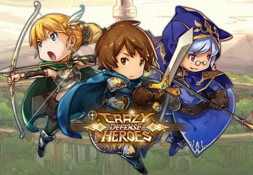 [รีวิวเกมมือถือ] มันส์สุดจัดกับเกมกันป้อมฮีโร่ Crazy Defense Heroes
