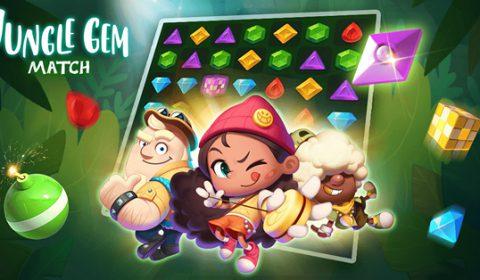 มิติใหม่เกมส์เรียงเพชร JungleGem Match:PvP Match3 การต่อสู้ PVP ที่ผู้เล่นต้องชิงไหวชิงพริบกันสุดฤทธิ์พร้อมให้เล่นแล้วทั้งระบบ iOS และ Android