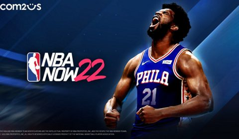 Com2uS ปล่อยเกมกีฬาบาสเกตบอล NBA NOW 22 รูปแบบ Global Launch แล้ววันนี้